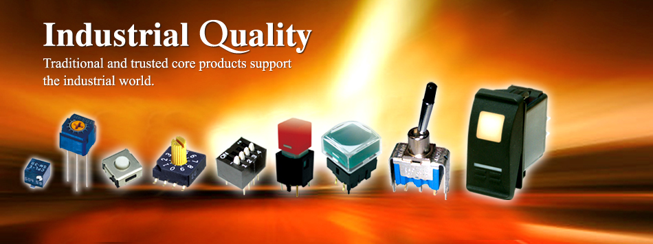 Click here! Switches, Trimmer Potentiometers, PTC fuses, Attenuators