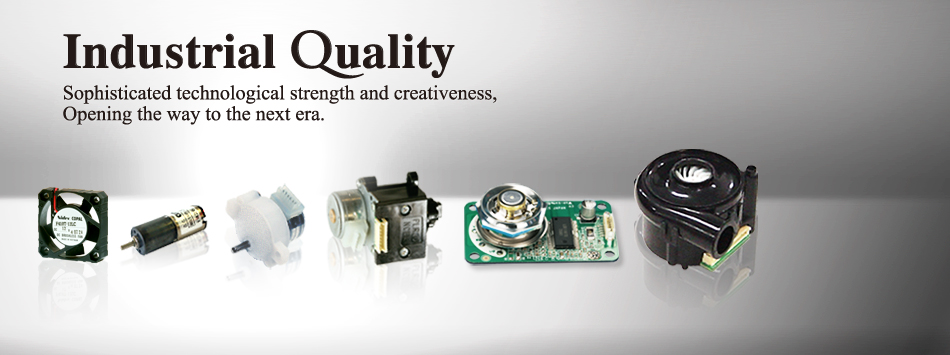 Click here! Stepping Motors, DC Motors, DC Fans, Slip Ring, Solenoid, Micro Blowers, Polygon mirrors, Scanner motors, Polygon Laser Scanners